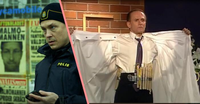 Magnus i Tunna Blå Linjen och Sten Frisk i Tre Kronor.