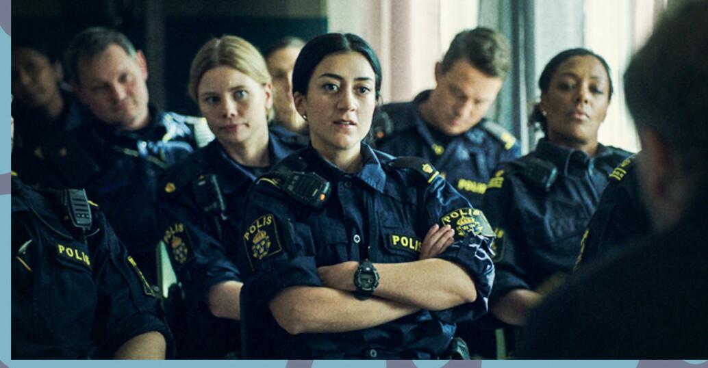 Poliserna i Tunna blå linjen