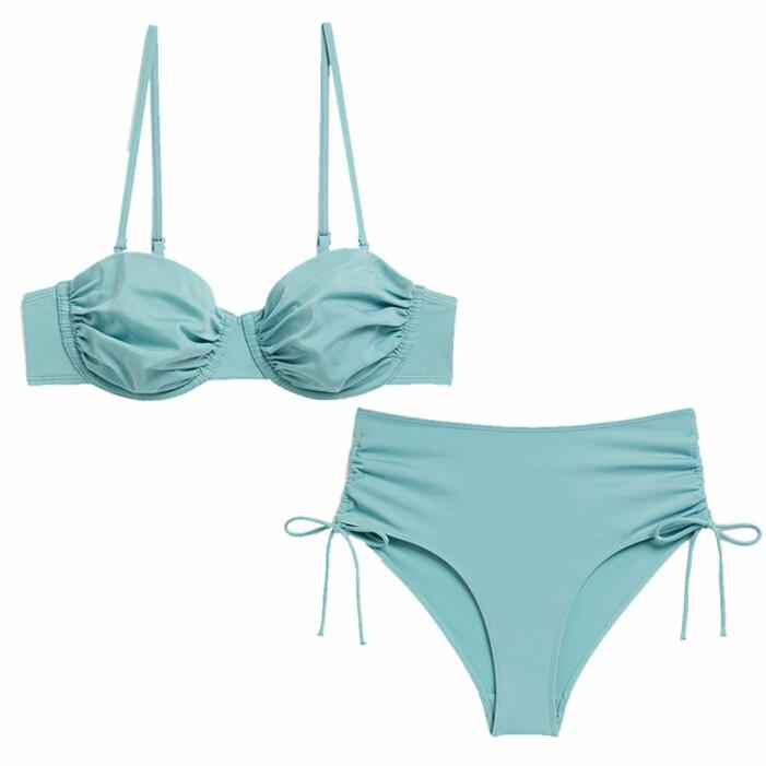 turkos bikini från Monki