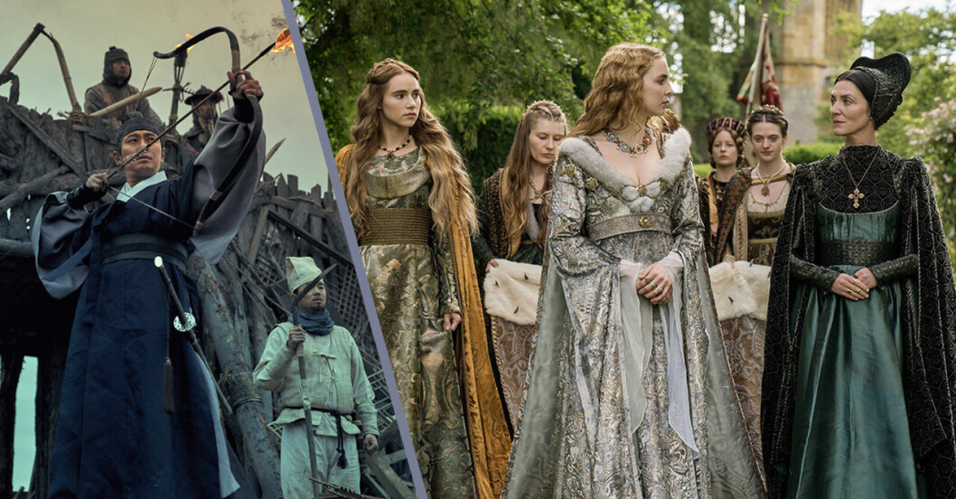 Tv-serier som liknar Game of Thrones tips