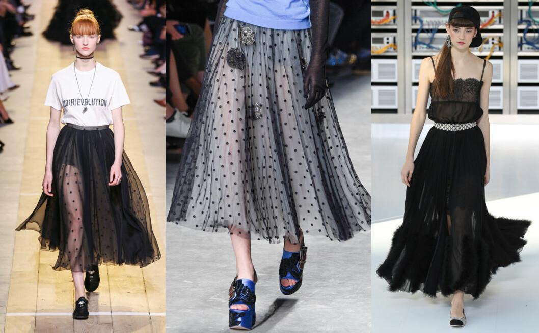 tyll kjol vårens trender 2017