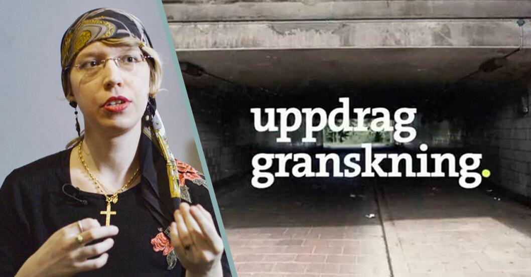 Transperson son ångrat sin behandling i Uppdrag Granskning.