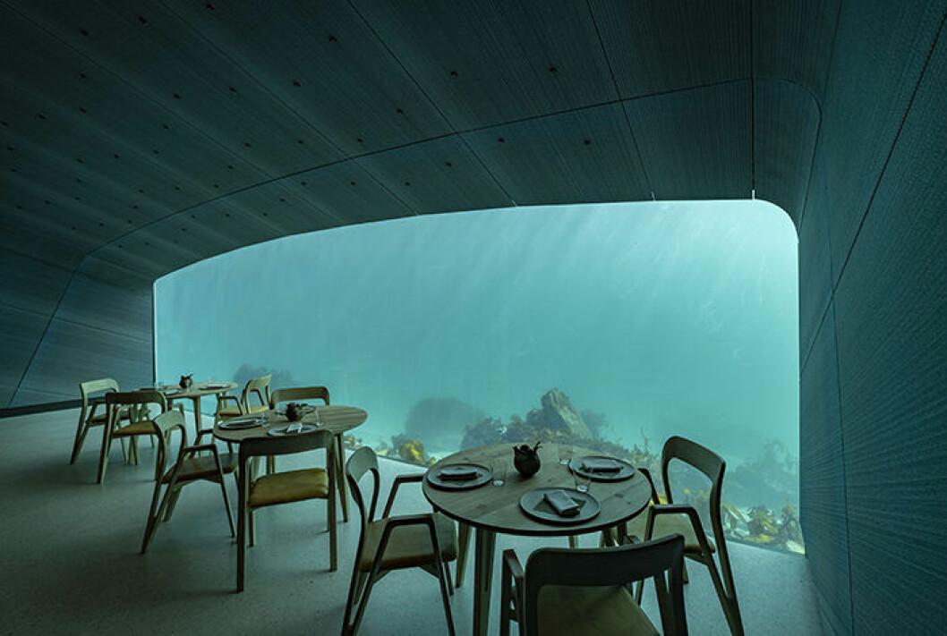 Undervattensrestaurangen Under i Norge