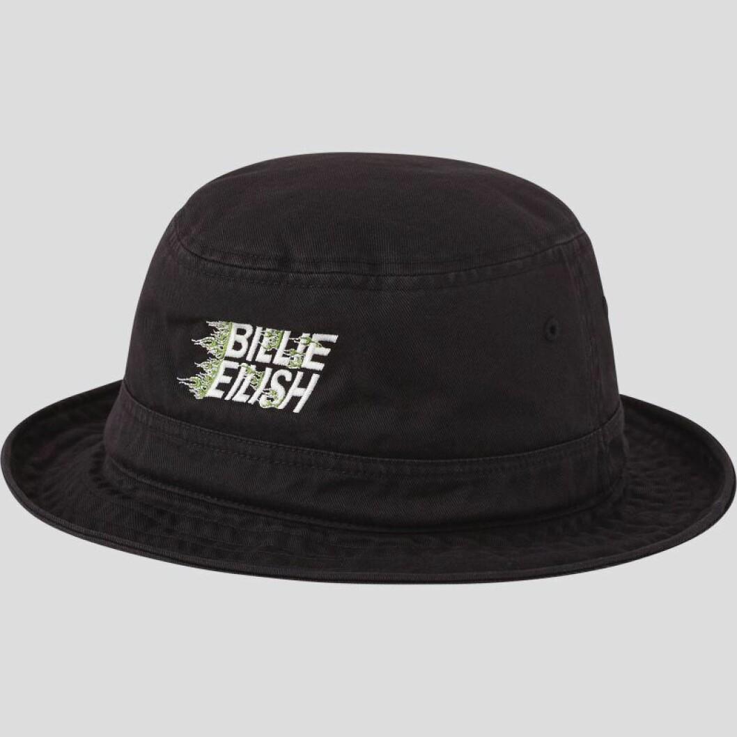 Billie Eilish x Takashi Murakami för Uniqlo: svart hatt