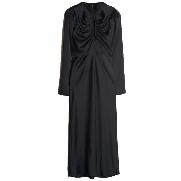 vadlång klänning gina tricot