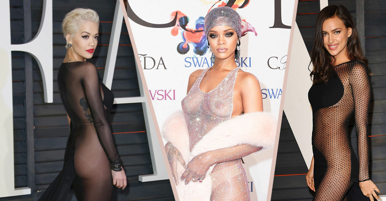 Rita Ora, Rihanna och Irina Shayk