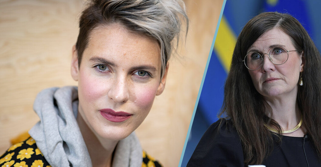Nina Rung är kriminolog och aktiv i debatten om mäns våld mot kvinnor. Märta Stenevi är språkrör för Miljöpratiet sedan januari 2021 och Sveriges jämställdhetsminister och bostadsminister sedan februari 2021.