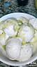 Vaniljglass med olivolja och salt i en video på Tiktok