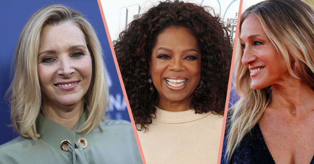 Lisa Kudrow, Oprah Winfrey och Sarah Jessica parker
