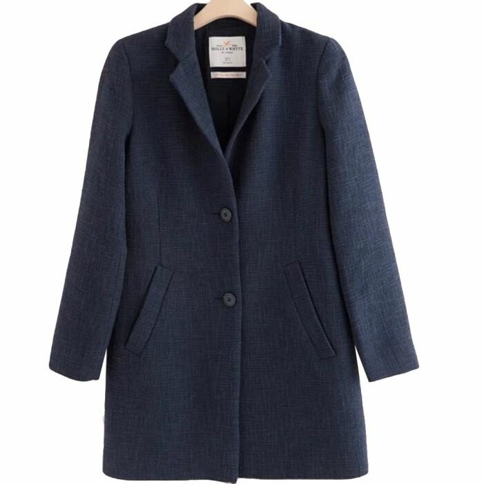 Blå kappa från Lindex