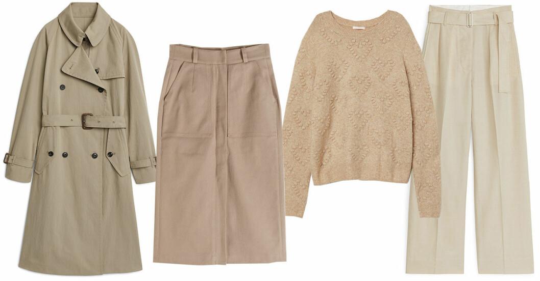 Vårmode 2019 trender: beigea kläder