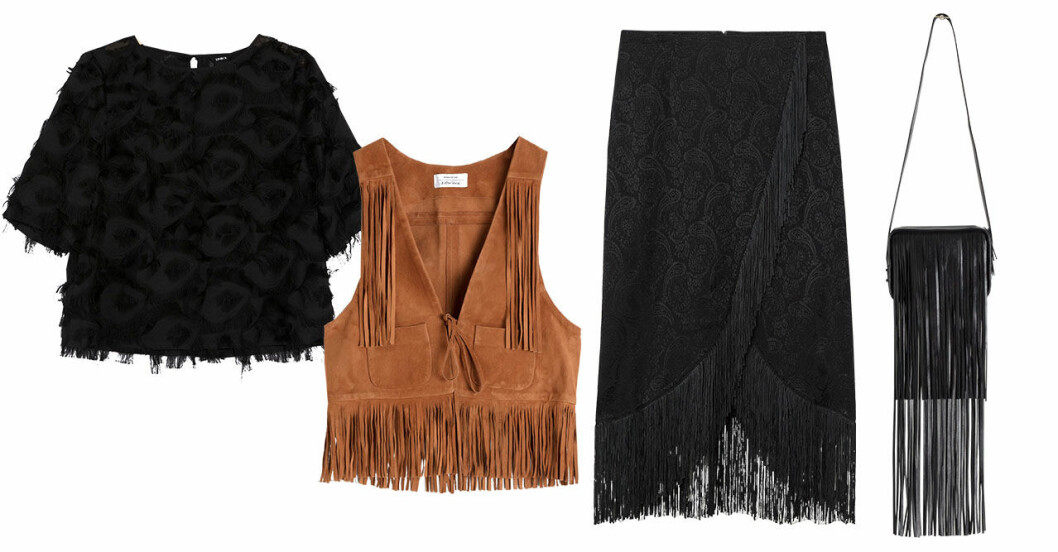 Vårmode 2019: trender fransar shopping