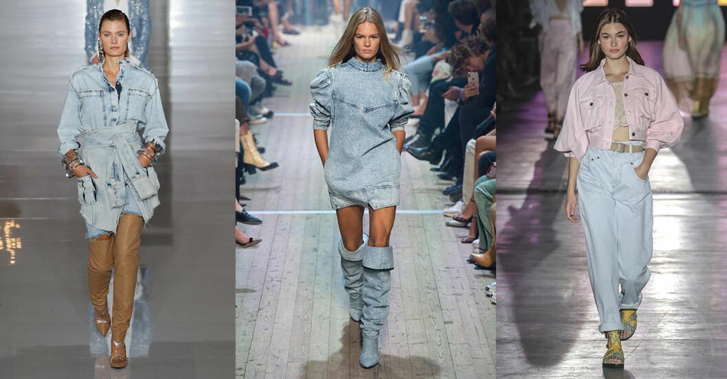 Vårmode 2019 trender: Ljusa jeans