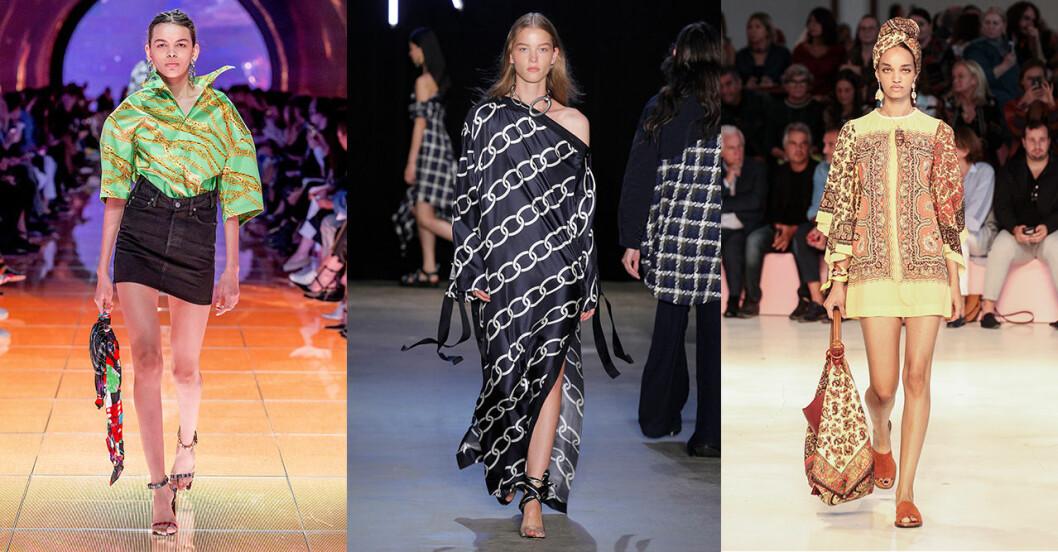 Vårmode 2019 trender: Sidenscarf