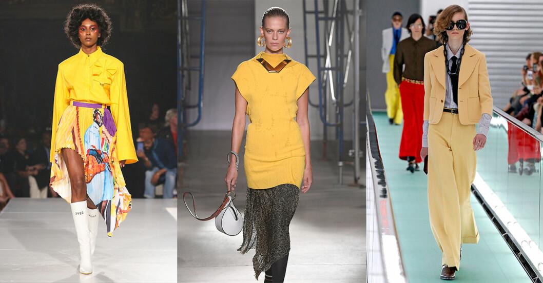 Vårmode 2020: trendig färg – gult