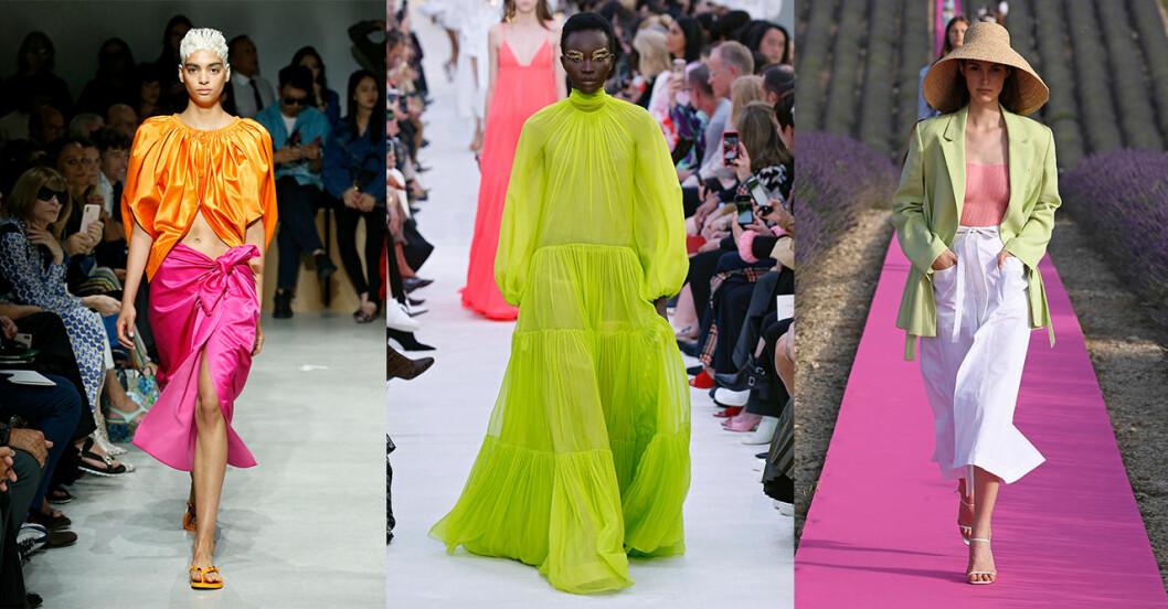 Vårmode 2020: trendig färg – neon
