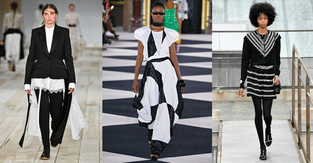Vårmode 2020: trendig färg – svart och vitt