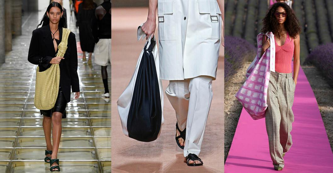 Vårmode 2020: Trendiga accessoarer –maxiväskan