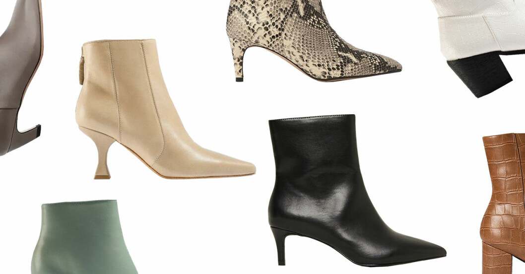Snygga boots för dam till våren 2020