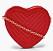 Hjärtformad väska till alla hjärtans dag