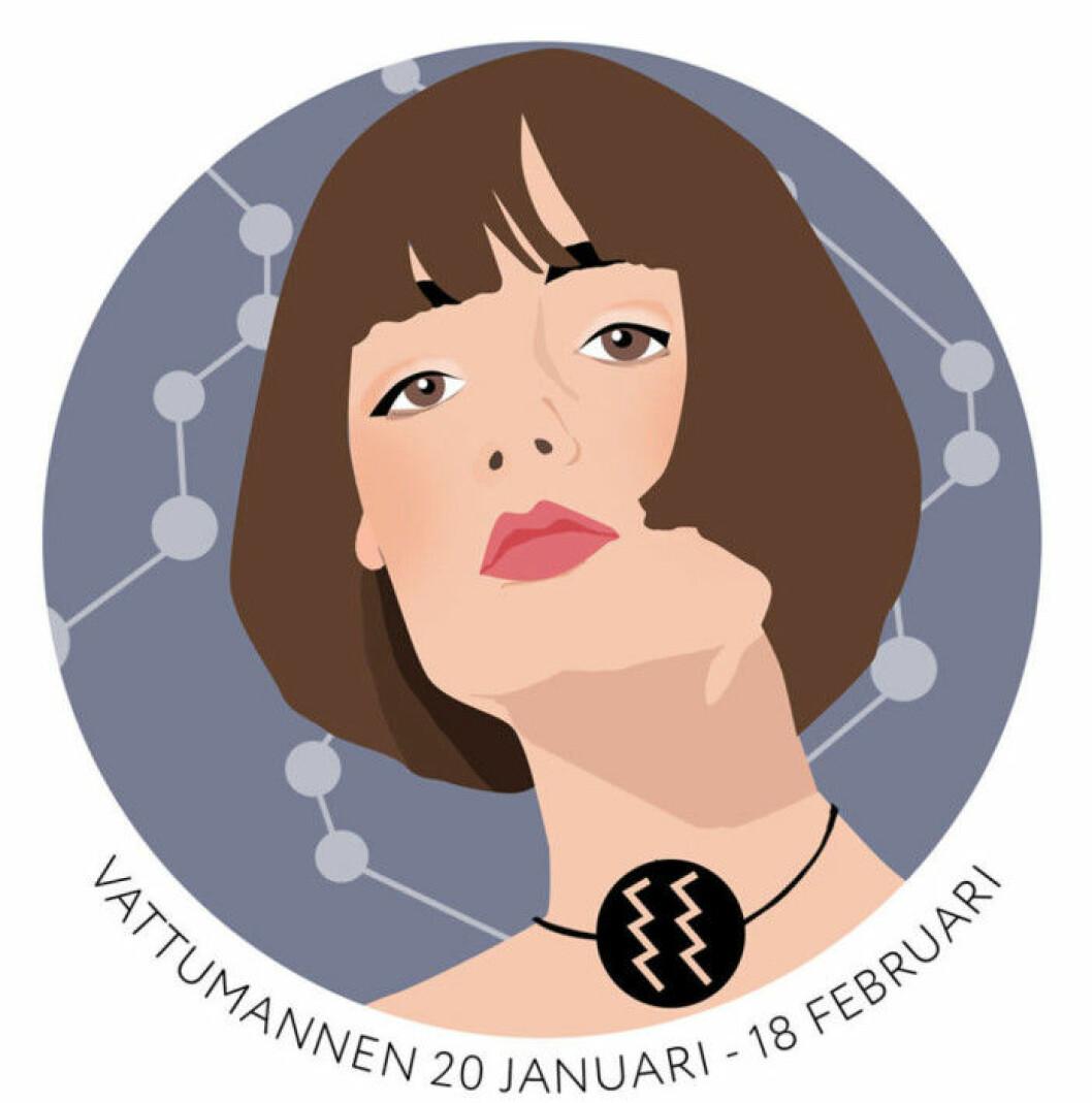 Horoskopet vecka 17 2021 för vattumannen
