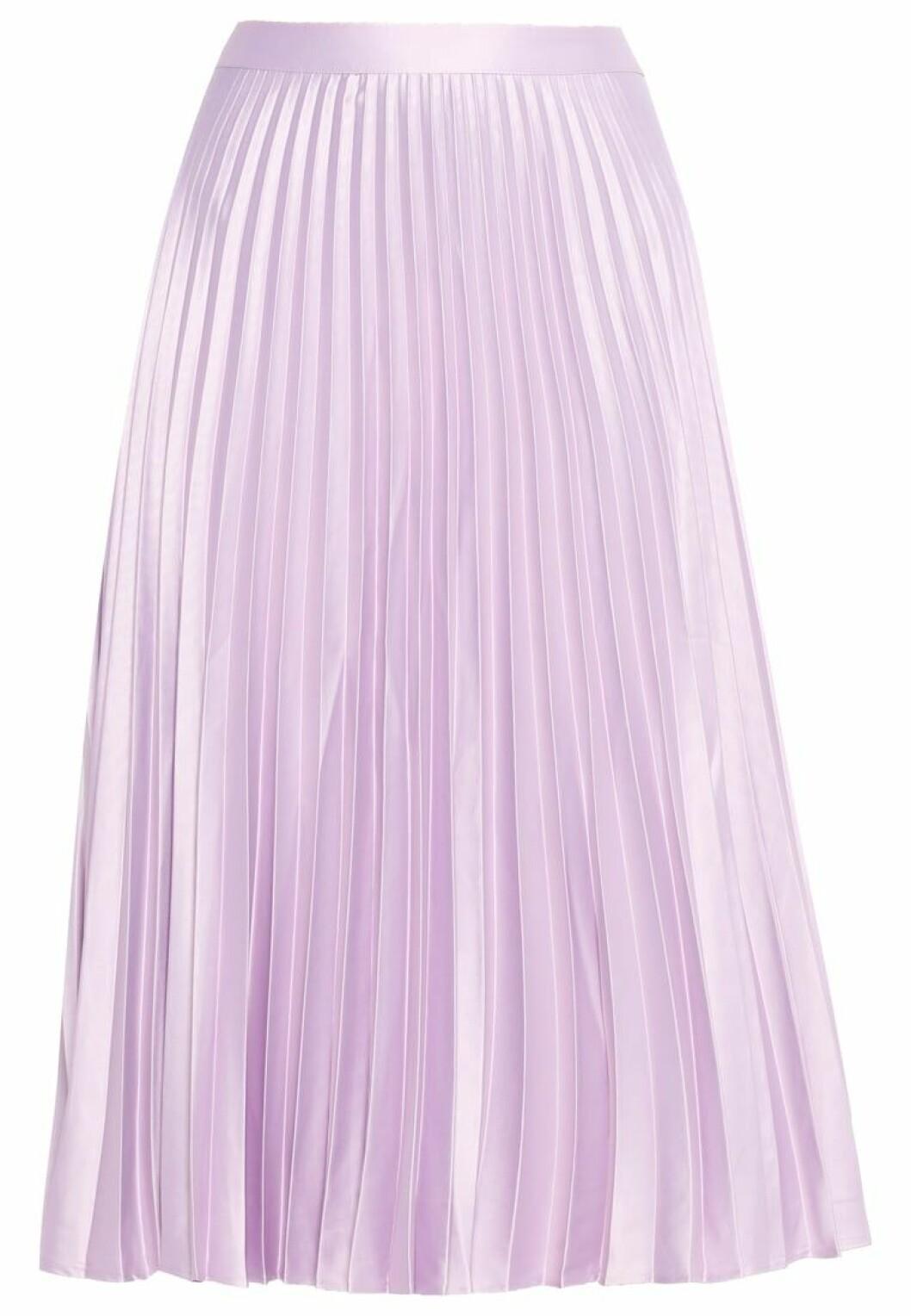 veckad kjol plisserad