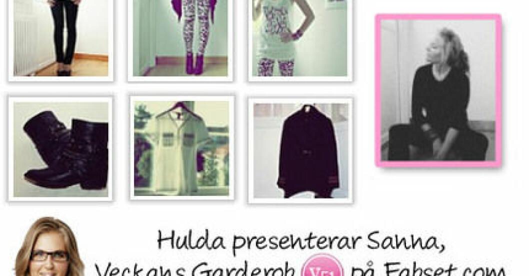 Sanna Kumlin har Veckans Garderob på Fabset.com.