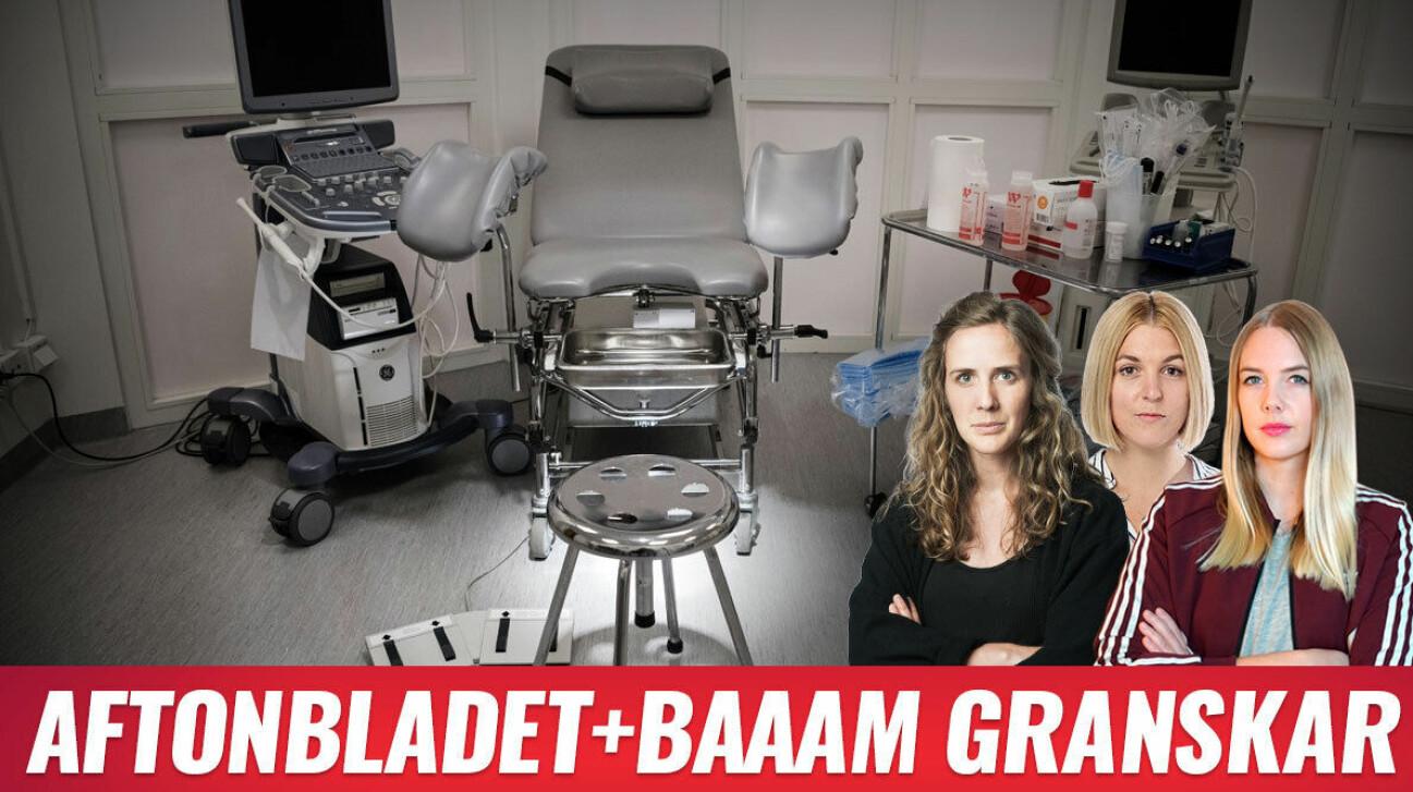 Baaam och Aftonbladet granskar vestibulitvården. Anna Tärnhuvud Josefine Karlsson Nathalie Mark
