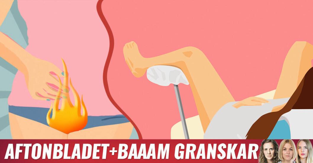 Vestibulit kännetecknas av brännande smärta i underlivet och man behöver uppsöka vård hos gynekolog på vulvamottagning.