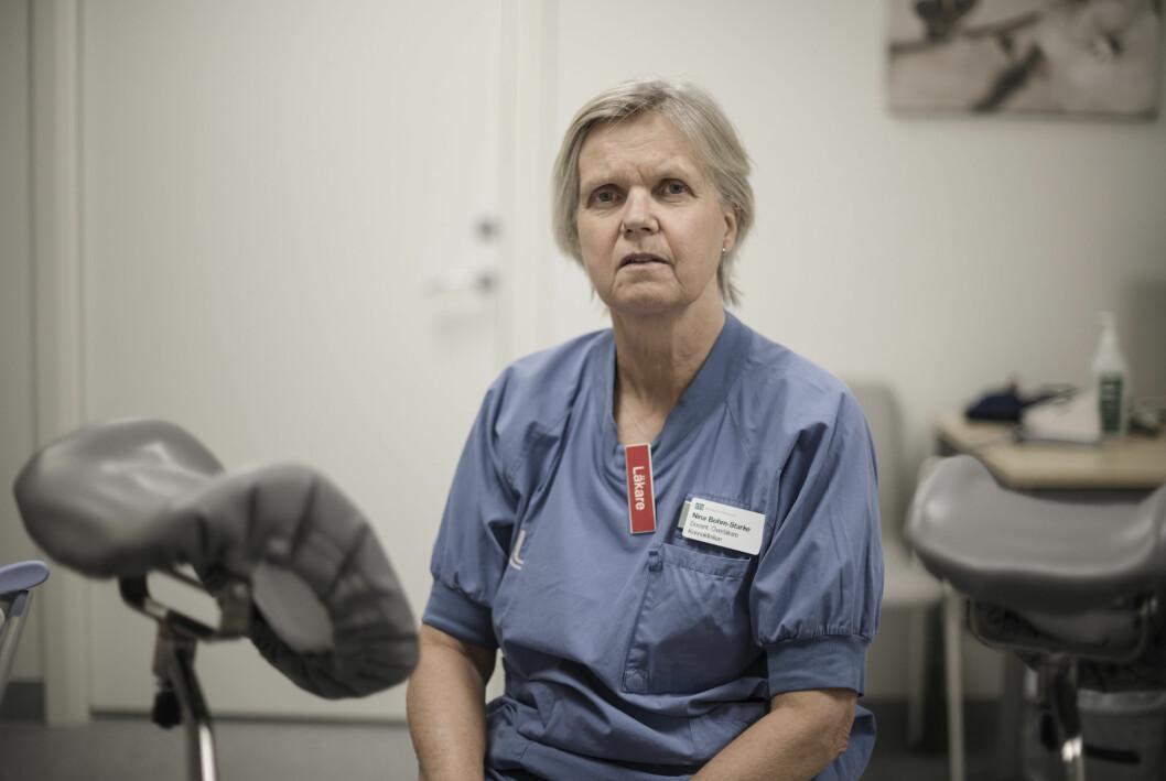 Nina Bohm-Starke på Danderyds kvinnoklinik är kritisk till den ojämlika vården.