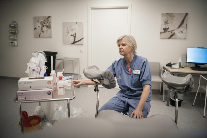 Överläkare Nina Bohm-Starke arbetar på Danderyds Kvinnoklinik.