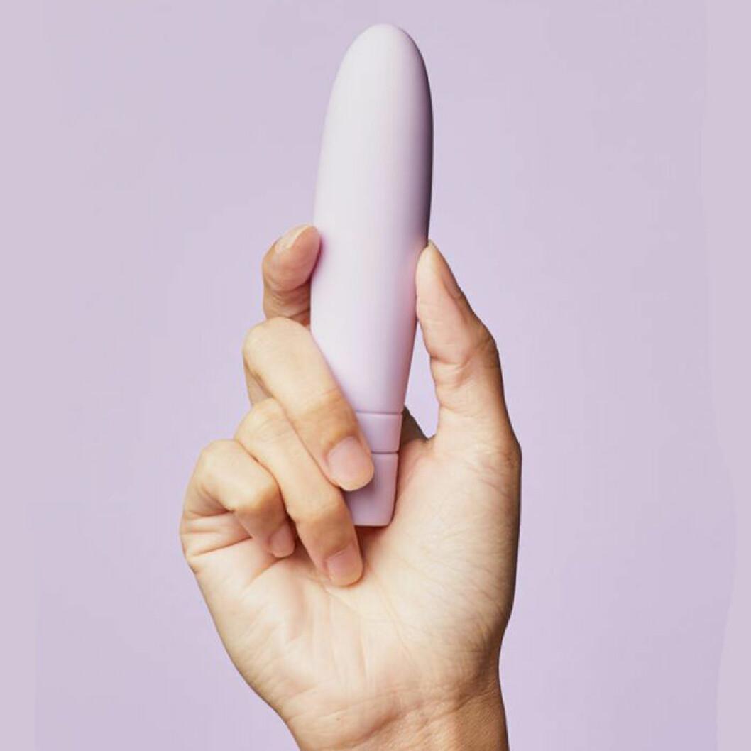 diskret lila vibrator