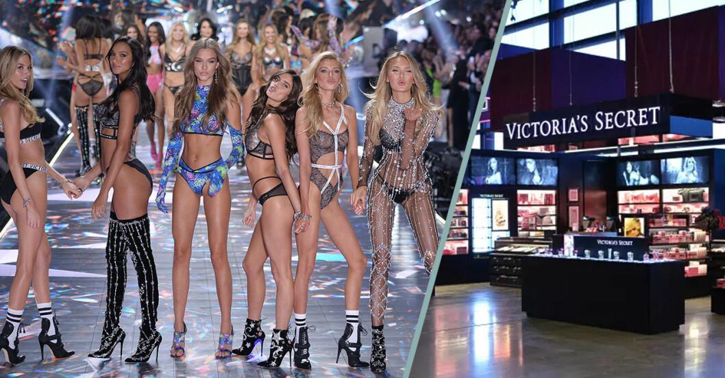 Victorias Secret show och butik