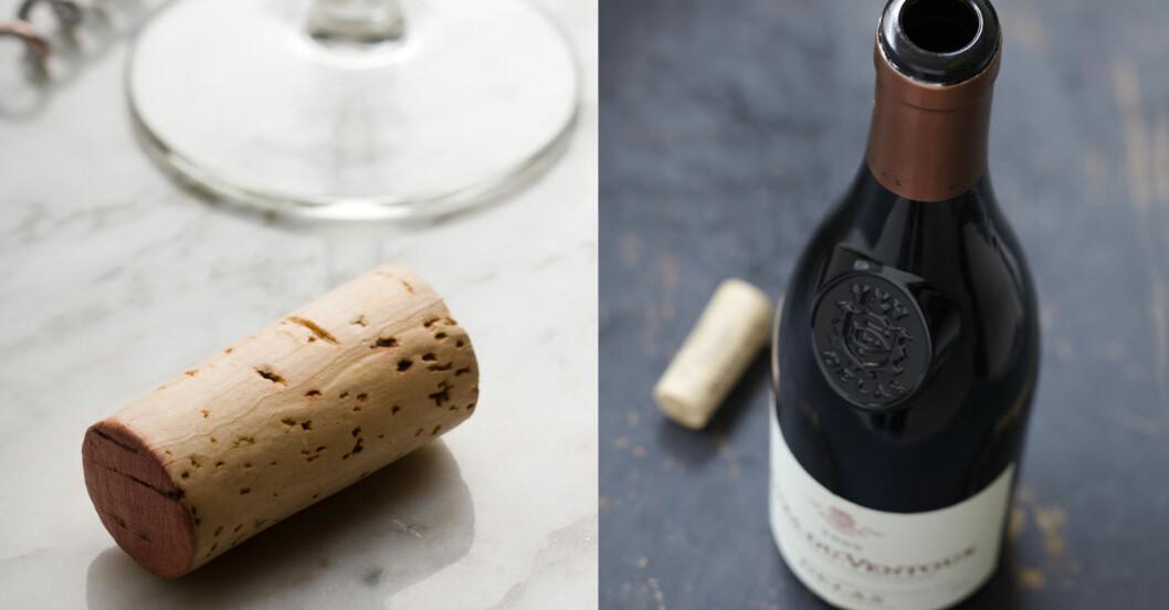 oppna en vinflaska utan korkskruv