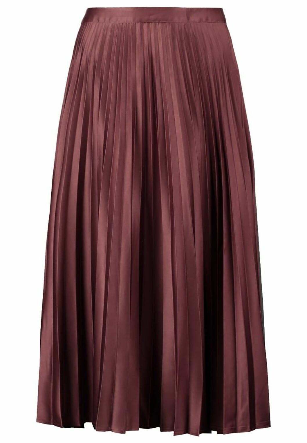 vinröd kjol