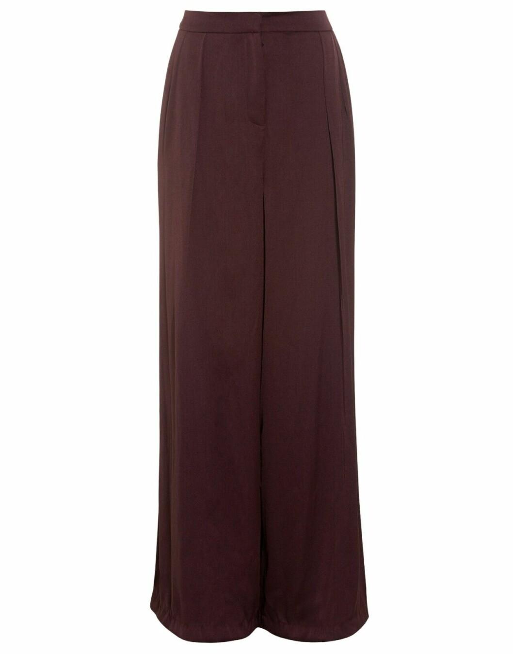 Vinröda kostymbyxor för dam till 2019