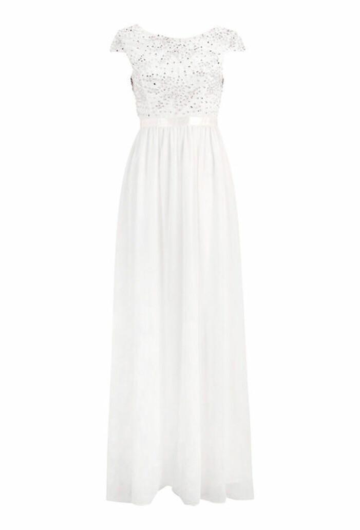 vit balklänning