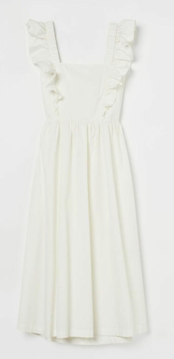 Vit klänning från H&M