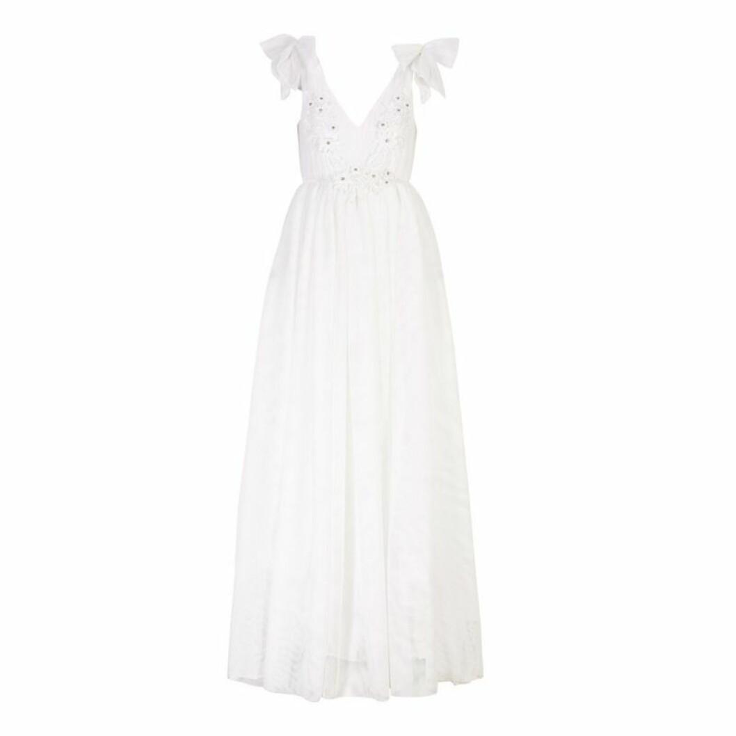 Bröllopsklänning gravid