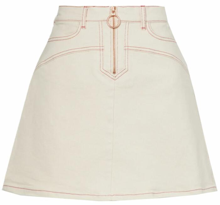 vit jeanskjol från see by chloe
