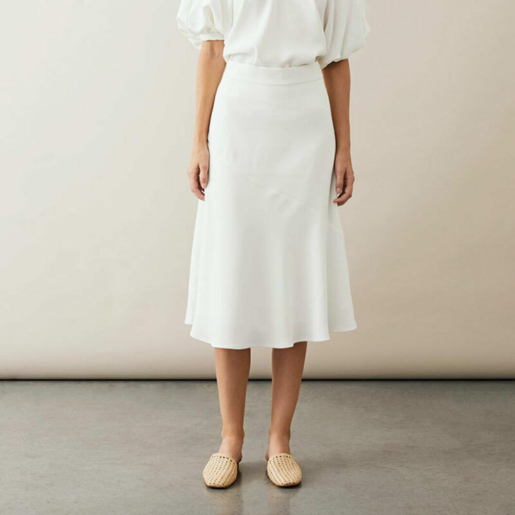 Vit kjol från Stylein