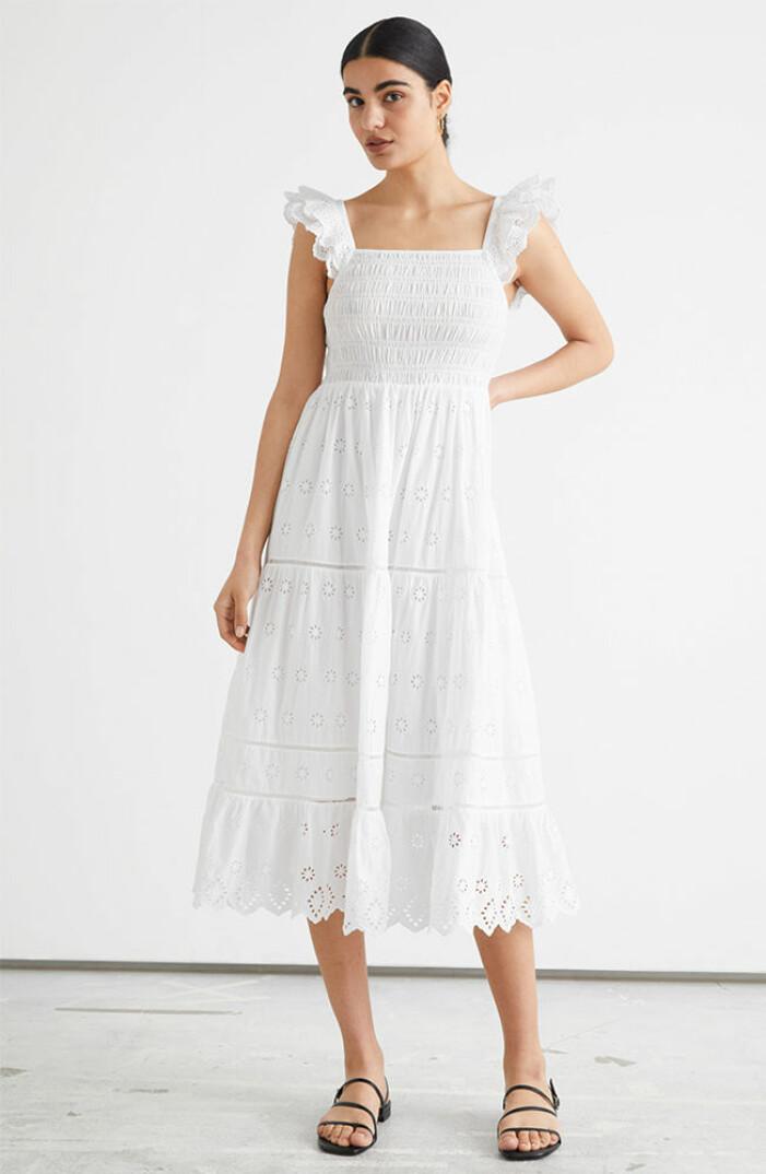 vit klänning till midsommar 2021