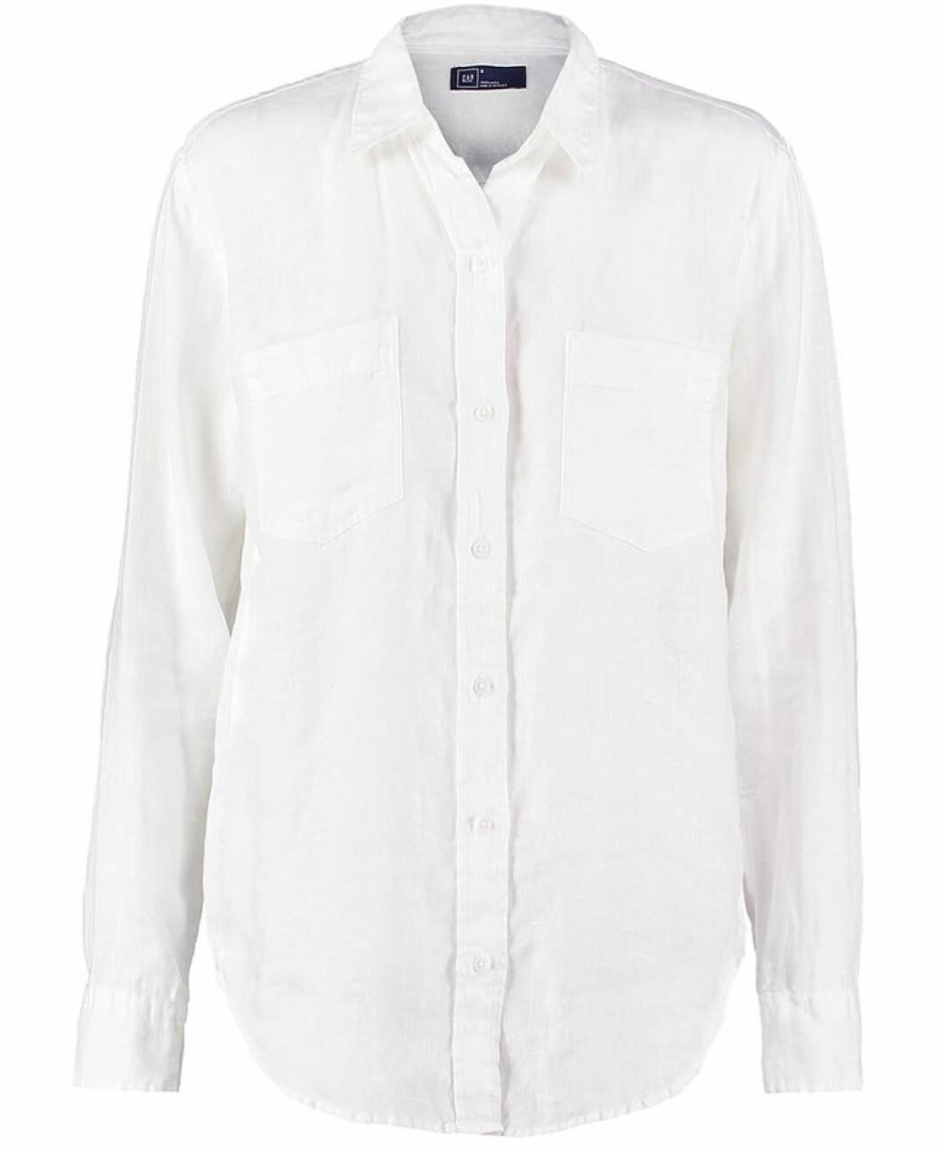 vit linneskjorta