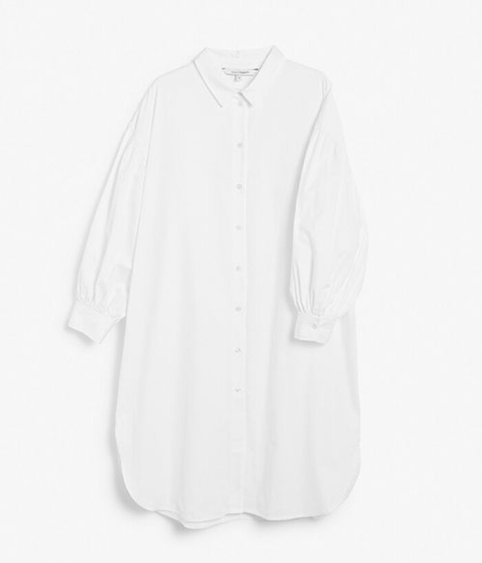 Vit oversized skjorta från KappAhl