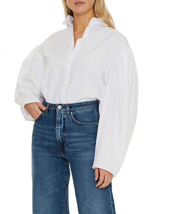 Vit oversized skjorta från Toteme