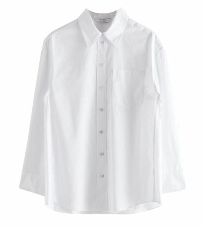 vit skjorta från stories
