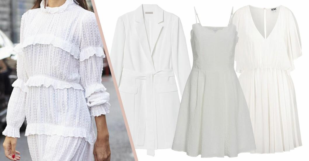 Vita studentklänningar billiga under 500 kronor