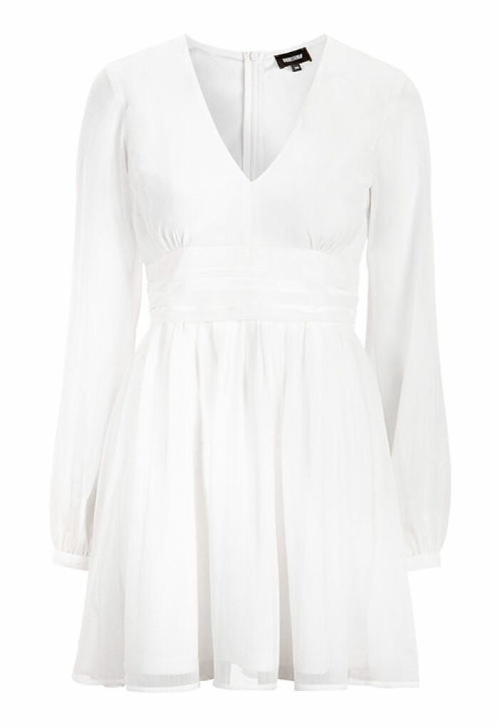 vit studentklänning dam 2021