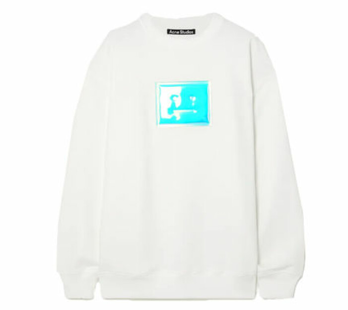 Vit sweatshirt från Acne Studios