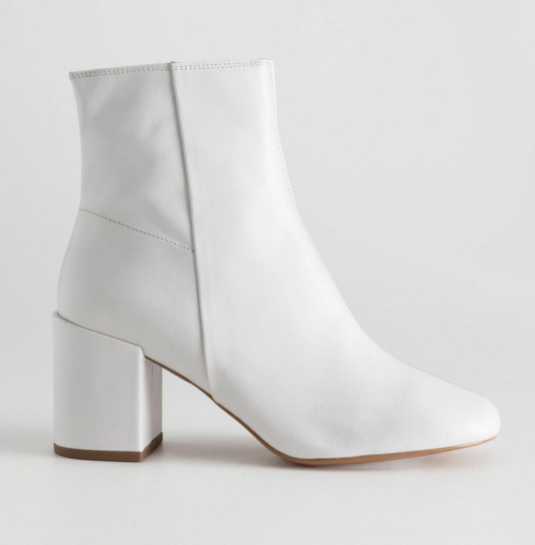 Vita boots till hösten